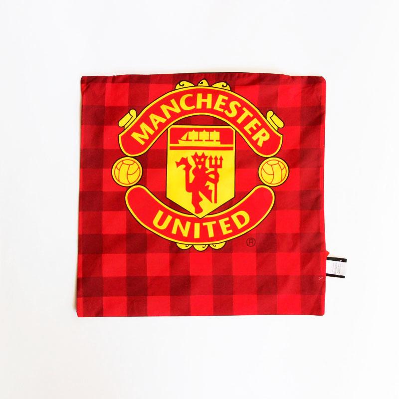 Poszewka na poduszkę Manchester United (kratka)