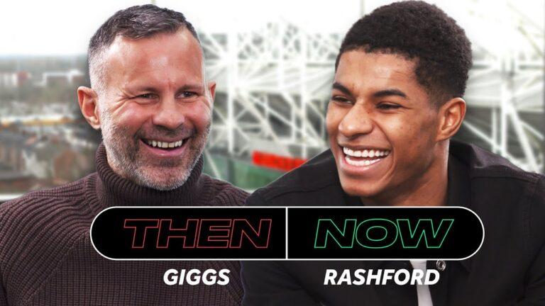 Wideo: Ryan Giggs i Marcus Rashford porównują własne kariery w Man Utd