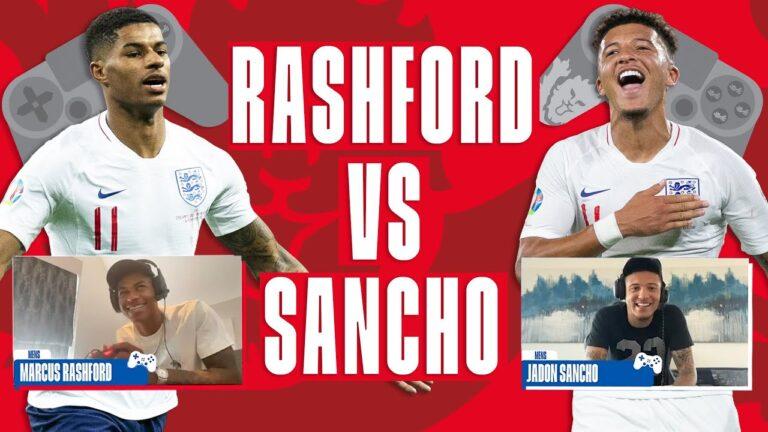 """""""Sancho do Rashforda… GOL!"""". Reprezentanci Anglii w wirtualnym pojedynku FIFA 20"""