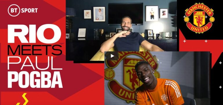 Wywiad Rio Ferdinanda z Paulem Pogbą dla BT Sport
